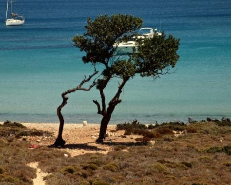 Baia di Pserimos; Foto di Daniela.