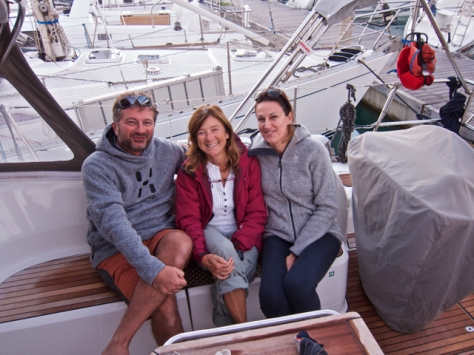 Con Beppe e Celia